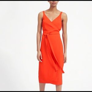 Everlane Japanese Go Weave wrap dress